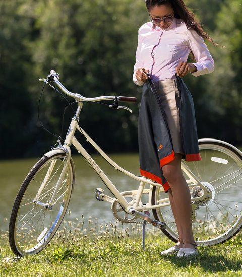 Focus produit jupe cityrideuz femme