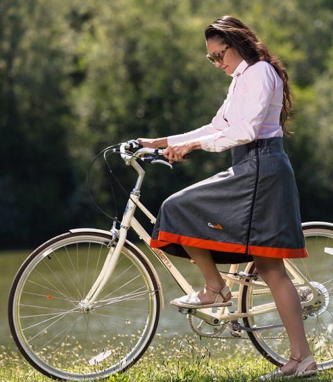 produit sur-jupe cityrideuz vélo femme