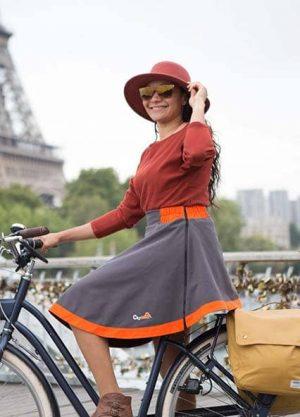 Femme / Vélo / Sur-jupe Holly v1