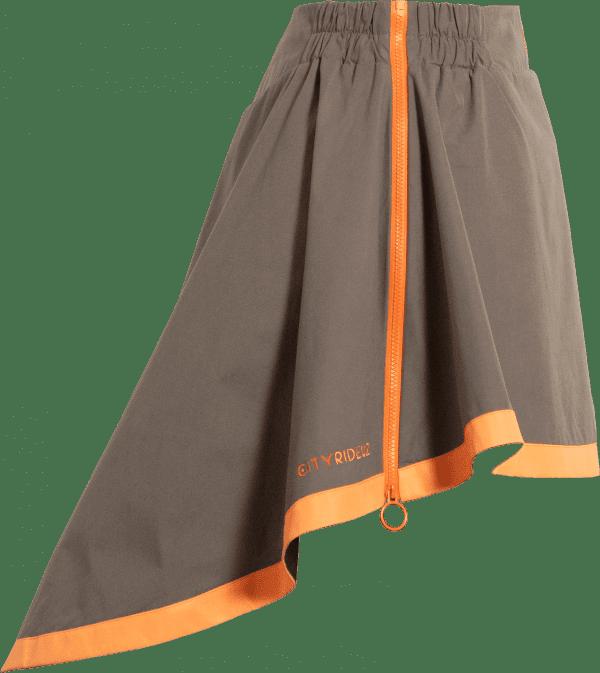 Sur-jupe mi-saison - Modèle Clara - kacki équipement de pluie