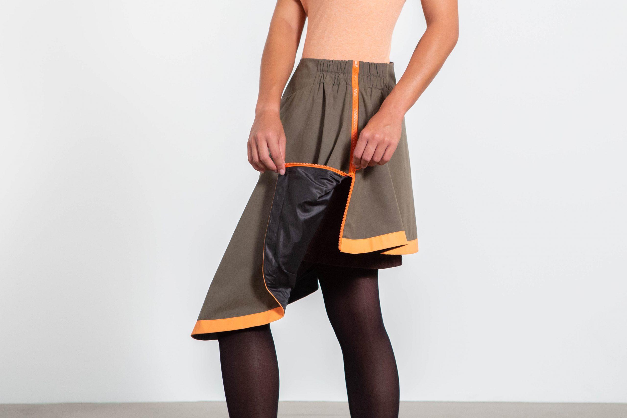 Sur-jupe mi-saison équipement de pluie légère